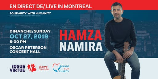 Hamza Namira | En direct de/ live in Montreal