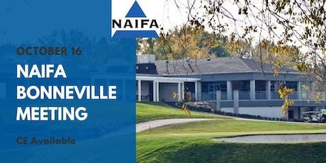 NAIFA Bonneville October Meeting tickets