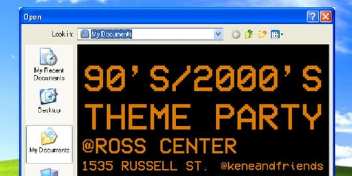 90's/2000's THEME PARTY BY KENE AND FRIENDS
