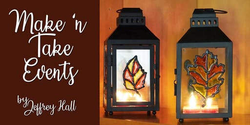 Make N Take Event - Stained Glass Lantern