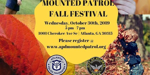 APD Mounted Patrol Fall Festival