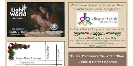 Light The World Community Nativity Celebration Lunch Recognition tickets