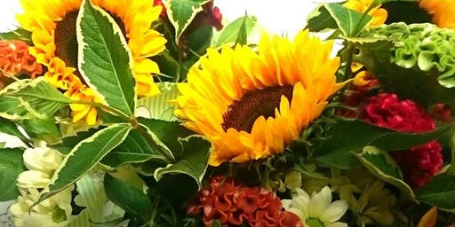 Autumn Floral Workshop - Garden Trug