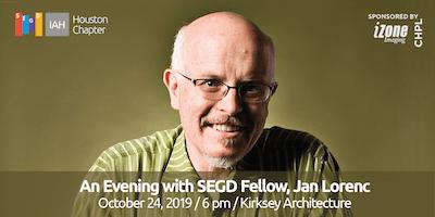 SEGD Houston: An Evening with SEGD Fellow, Jan Lorenc