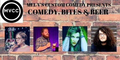 COMEDY, BITES & BEER @ HOP HAUSE