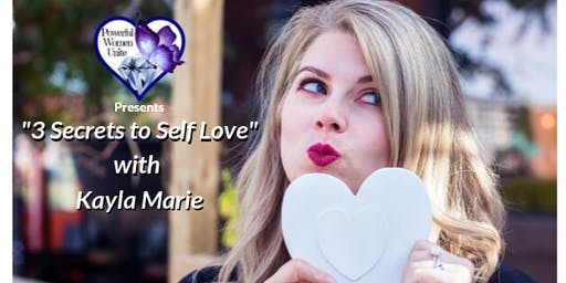 3 Secrets to Self Love Workshop (Oct 29th)