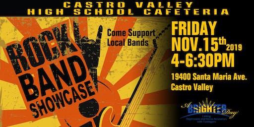 Band Showcase Castro Valley - NOV 2019
