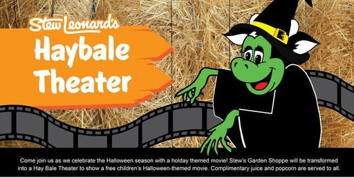 Halloween Hay Bale Theater