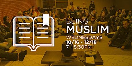 Being Muslim tickets