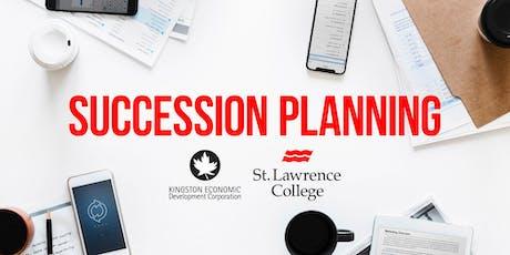 Succession Planning tickets