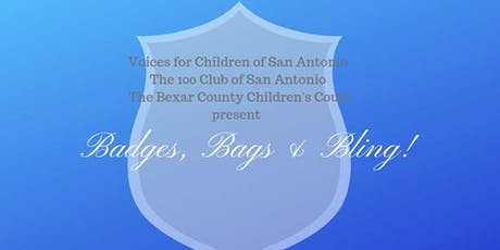 First Annual Badges, Bags and Bling! tickets
