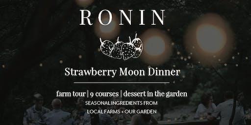 Strawberry Moon Dinner