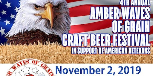 AMBER WAVES OF GRAIN CRAFT BEER FESTIVAL FOR VETERANS 2019