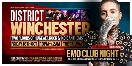 DISTRICT Winchester // Alt, Emo & Indie Club Night tickets