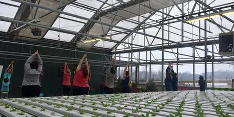 Yoga + Cooking Demo at Eckert's Family Farms tickets