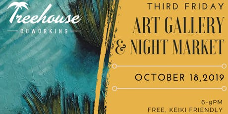 Third Friday Art Gallery & Night Market tickets