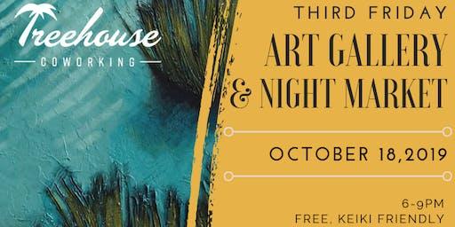 Third Friday Art Gallery & Night Market
