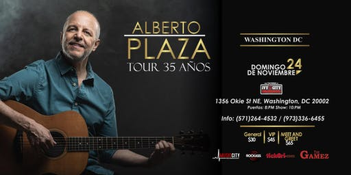 Alberto Plaza en Concierto - Washington DC