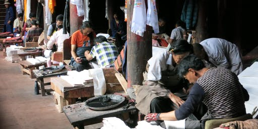 Exhibition Reception: The Tibetan Culture of Language and Letters