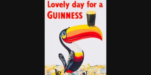 Paint Your Own Guinness Ad - Paint and Sip