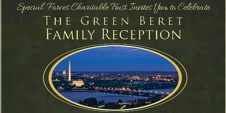 Celebrating The Green Beret Family Reception 2019 tickets
