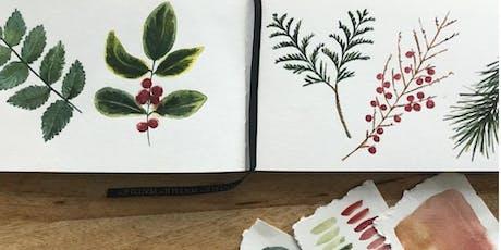Botanical Watercolor Illustration Workshop tickets