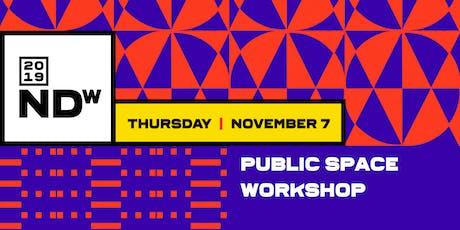 Public Space Workshop tickets