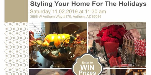 Styling your home for the holidays