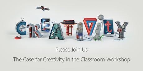 Toronto Adobe K12 Classroom Creativity Workshop  tickets