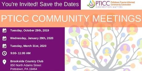 PTICC Community Meeting tickets