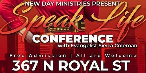 Speak Life Conference