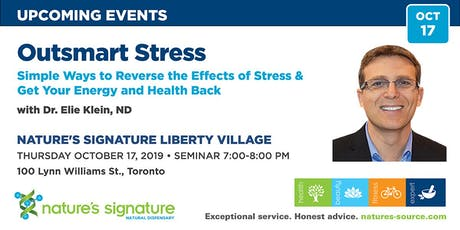 Outsmart Stress! with Dr. Ellie Klein, ND tickets