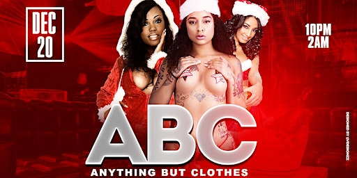 ABC: Anything But Clothes Costume Party