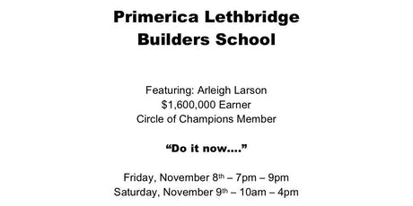 Lethbridge Builders School tickets