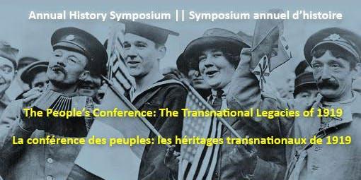 Annual History Symposium / Symposium annuel d'histoire