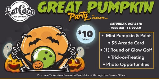 Great Pumpkin Event