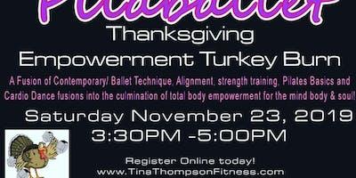 Fitness Thanksgiving Burn- Pilalballet Masterclass