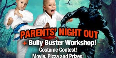 Zen Dojos Halloween Parents Night Out/ Bully Buster workshop