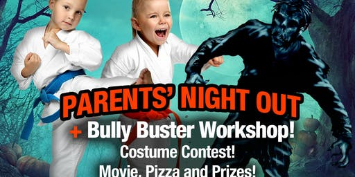 Zen Dojos Halloween Parents Night Out/ Bully Buster workshop