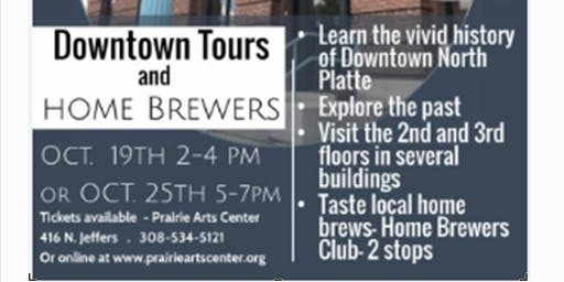 Downtown Tours and Homebrewers
