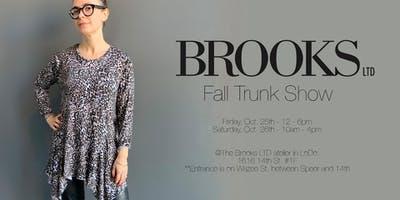 Brooks LTD Fall Trunk Show