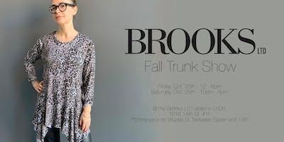 Brooks LTD Fall Trunk Show