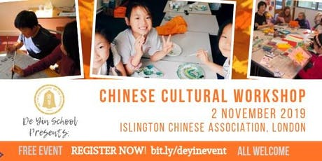 Chinese Cultural Workshop tickets