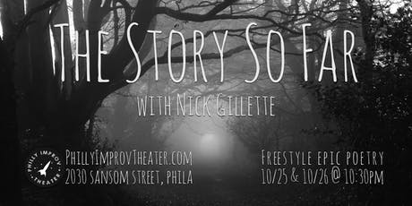 The Story So Far with Nick Gillette tickets