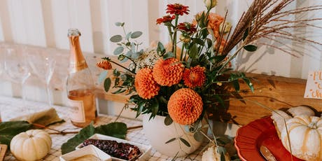 Thanksgiving centerpiece workshop tickets
