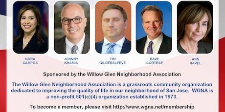 WGNA Sponsored District 15 Senate Candidate Forum tickets