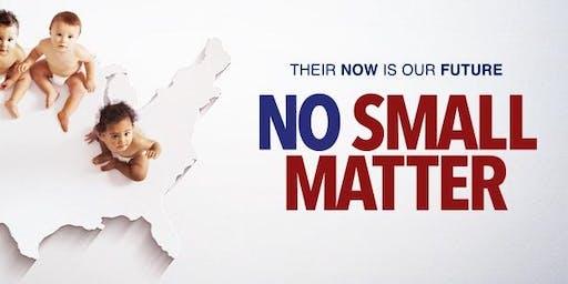 Pierce College Child Development Department Presents: No Small Matter
