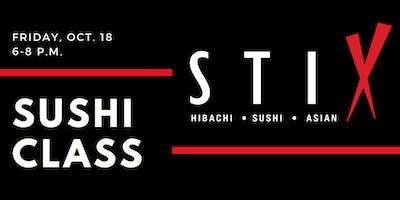 Sushi-Making Class at STIX