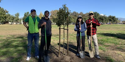Green Crew Tree Planting in Pomona!