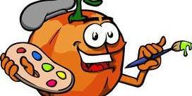 Kids Halloween Paint the Pumpkin